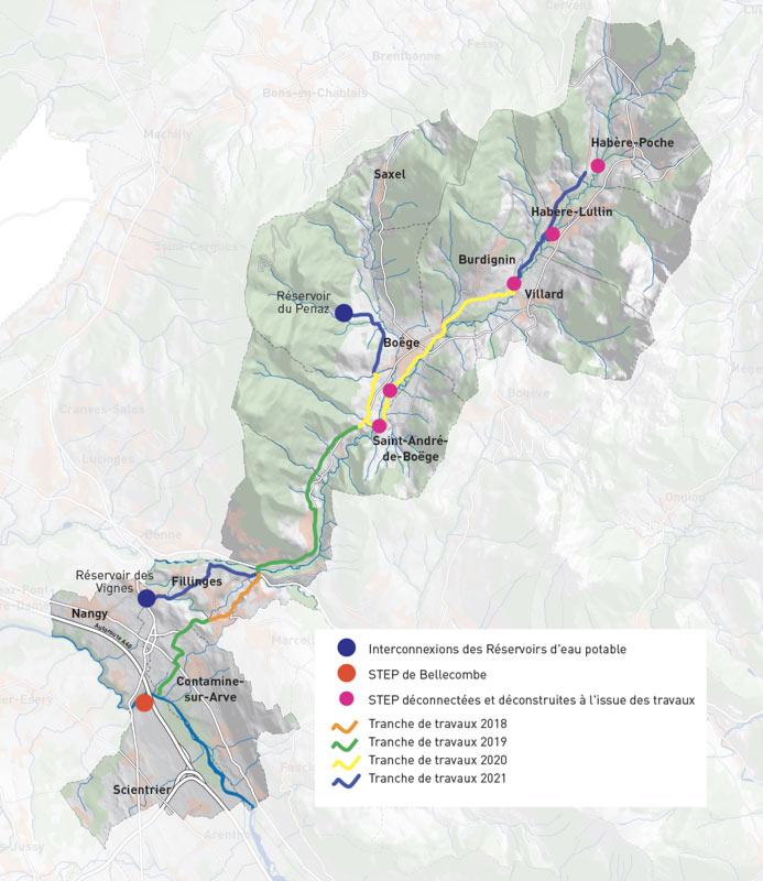 SRB Projet Vallée Verte cartographie